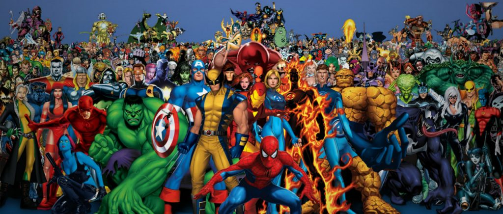 superheroes de marvel