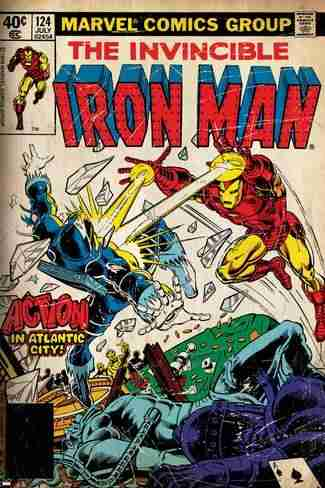 comics de iron man