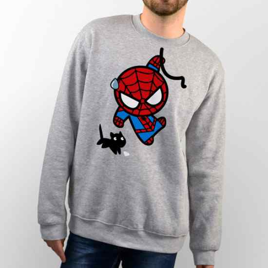 sudaderas de spiderman